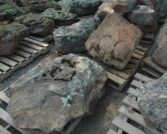 Moss Boulders -