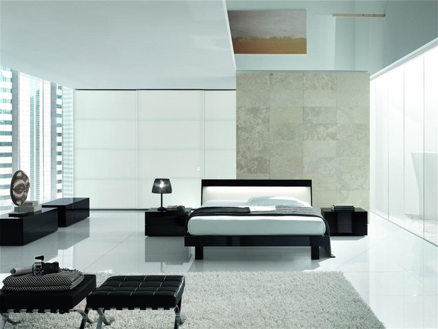 Made In Italy Wood Modern Master Bedroom Contemporary Beds Cedar