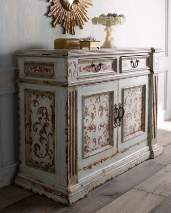 """Gianna"" Console  traditional-dressers"