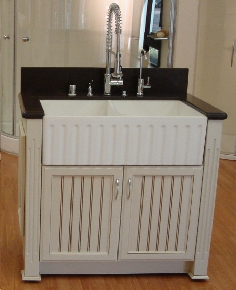 Apron Sink For Bathroom : ... Apron Sink - Traditional - Kitchen Sinks - new york - by Quality Bath