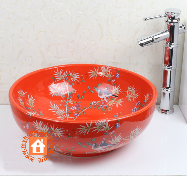 Sink asian-bathroom-sinks