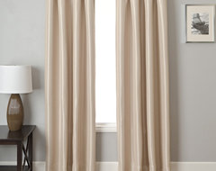 Blindsgalore Signature Drapery Panel: Energex Solid Blackout traditional-curtains