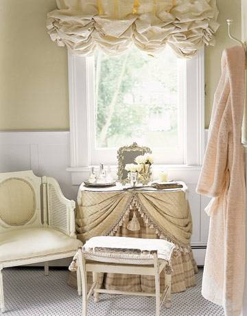 Skirted Dressing Table  
