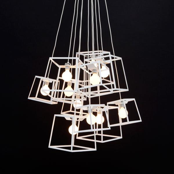 Frame Light Chandelier modern-chandeliers