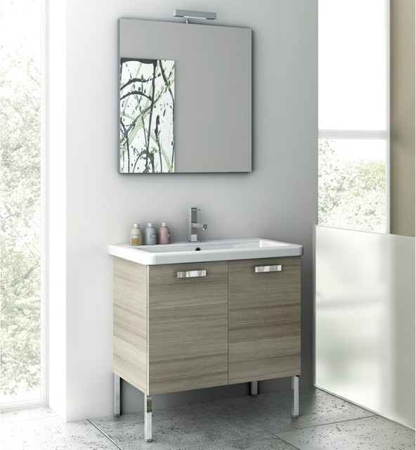 30 Inch Bathroom Vanity Set contemporarybathroomvanitiesandsink