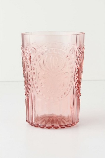 Fleur-De-Lys Tumbler contemporary-everyday-glasses