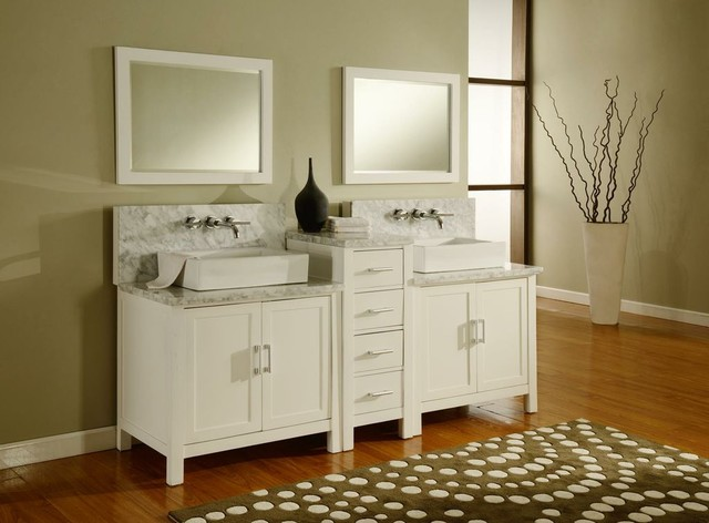 Bathroom Vanities with Wall Mount Faucets