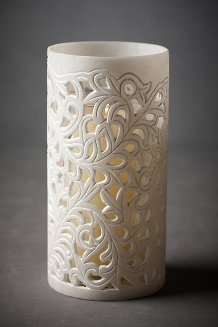 Flourishing Ferns Hurricane modern-candles-and-candleholders
