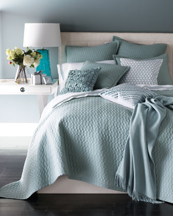 SFERRA Bradley Bed Linens Bradley King Quilt Set traditional-quilts-and-quilt-sets