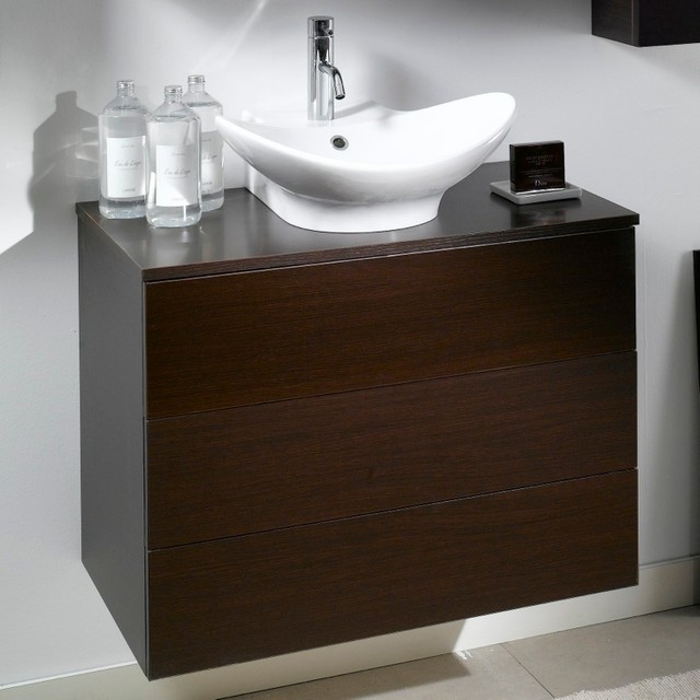 Vessel Sink With Cabinet : Cabinet with Vessel Sink - Contemporary - Bathroom Vanities And Sink ...