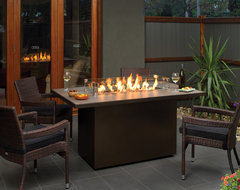 Regency Plateau Island Firetable contemporary firepits