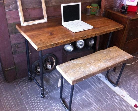 Reclaimed Desk - Brent Hollenberg