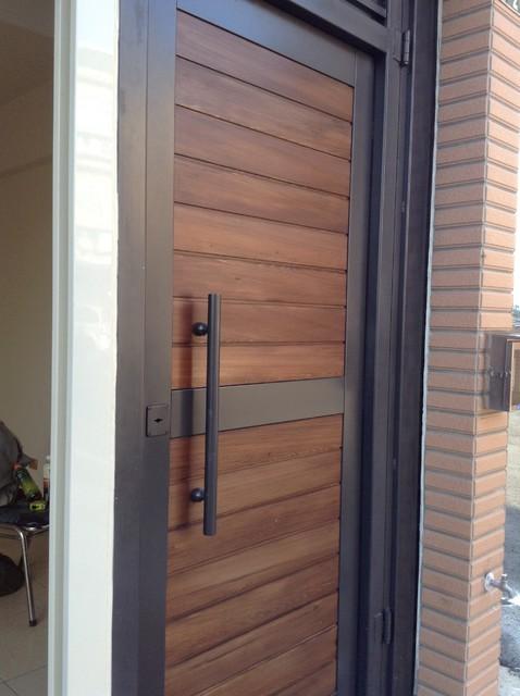 Garden Door modern-front-doors