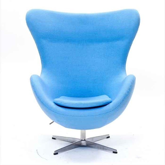 Modway Glove Chair In Baby Blue Eei 142 Bbl Traditional Outdoor Loung