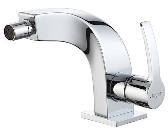 Kraus Typhon Single Lever Bidet Faucet Chrome KEF-15106CH - Discover the brilliance of exquisite bathroom d-cor and enhance your way of living