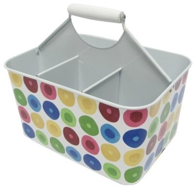 Multidot Metal Square Utensil Caddy modern flatware