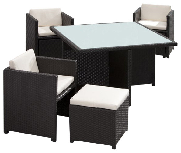 Zuo Naples Outdoor Nesting Table Set modern-side-tables-and-end-tables