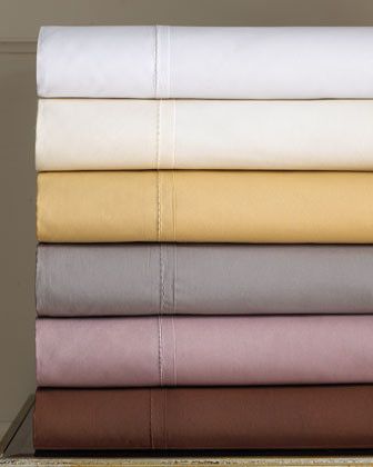Donna Karan Home Bed Linens California King Fitted Sheet traditional-sheets
