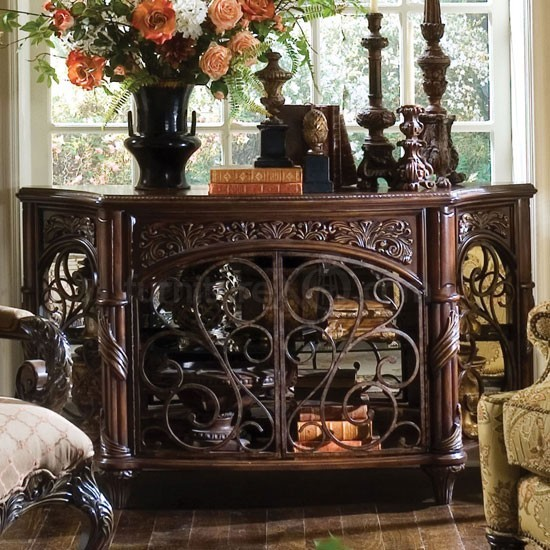 Furniture essex manor console table n76260 traditional home decor