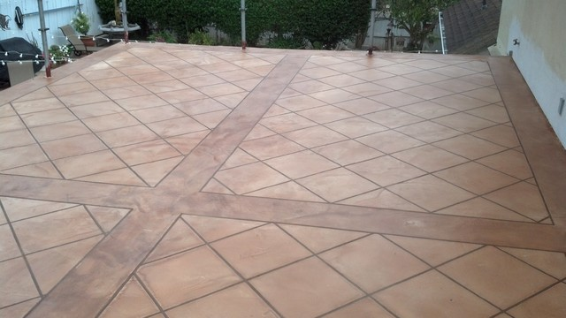To Build A Patio With Ceramic Tile The Family Handyman