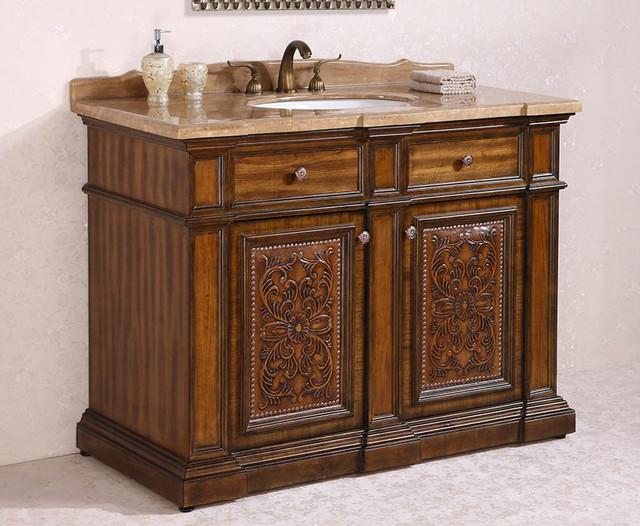 Ornate And Antique Bathroom Vanities Traditional Bathroom Vanities And Sink Consoles