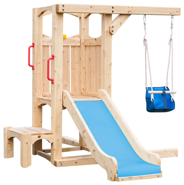 Image Result For Kids Playsets And Swing Sets Houzz