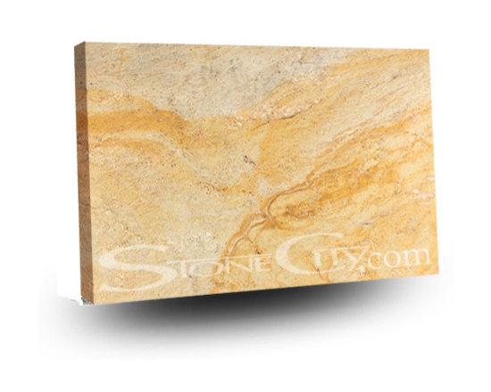Oro Sueno Granite Slab - Oro Sueno granite slab.