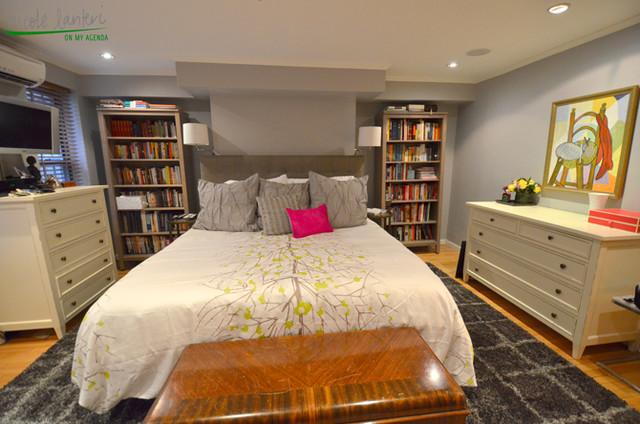 A Bedroom Oasis eclectic-bedroom