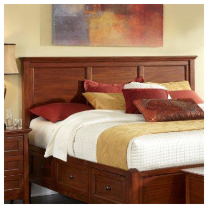 Westlake Storage Panel Headboard - modern - headboards - by Wayfair