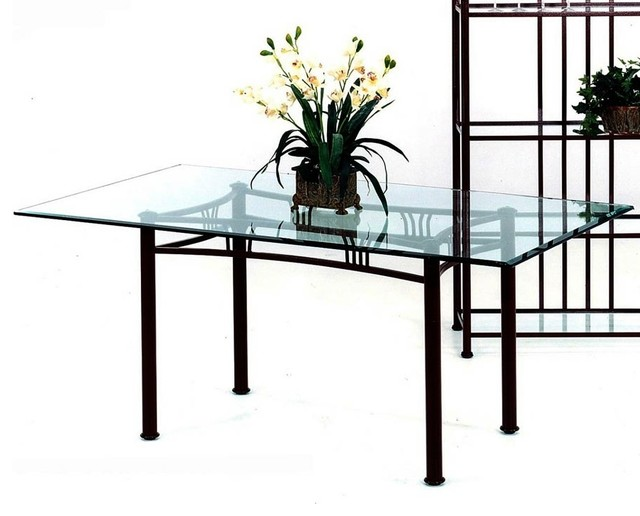 Somerset Rectangular Metal Frame Table Base ( - Contemporary - Table Tops And Bases - by ShopLadder