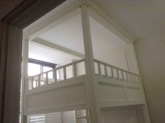 Custom Made Beds Image Gallery: Custom Designed And Built Queen Size Bunk Bed