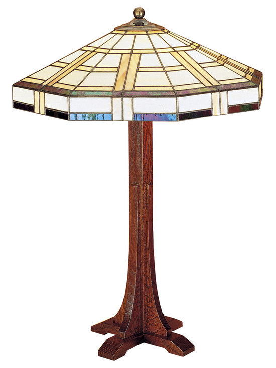 Stickley Cross Base Table Lamp 89-039-5 -