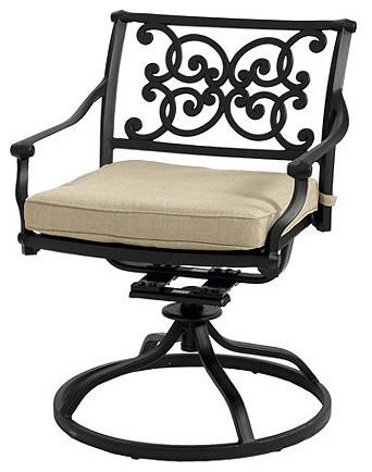 Amalfi Swivel Rocker traditional-outdoor-lounge-chairs