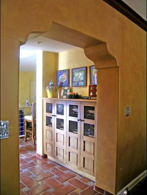 After-El Encanto Spanish Colonial mediterranean-kitchen