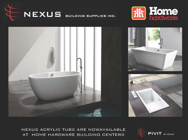 NEXUS PRODUCTS bathtubs