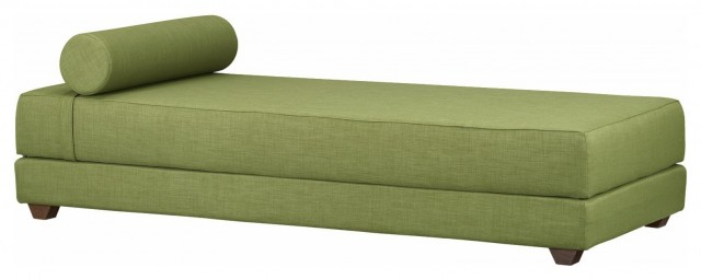 CB2 - Lubi Olive Daybed modern-daybeds
