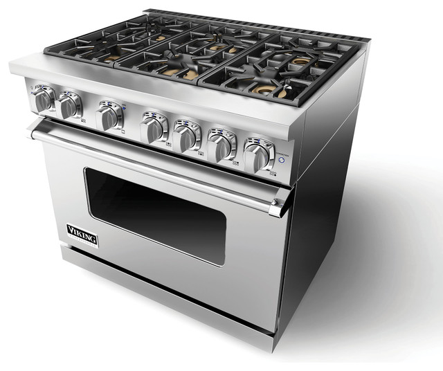 Viking 36 7 series gas range vgr gas ranges and for Viking 36 electric cooktop