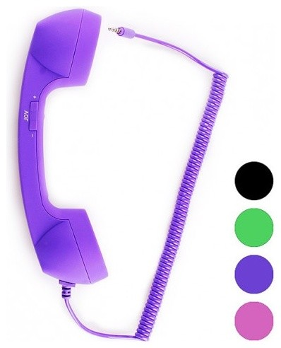 Pop Retro Anti-radiation Handset for All Apple iPad/iPhone Series contemporary 