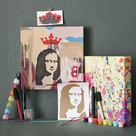 M.E.Y.K. Artist Kits | west elm eclectic-artwork