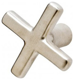 Rocky Mountain Hardware Cross Knob (K235) traditional-cabinet-and-drawer-knobs