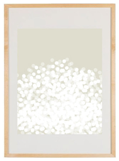 Claire White Modern Art Print by Bergen House modern-artwork