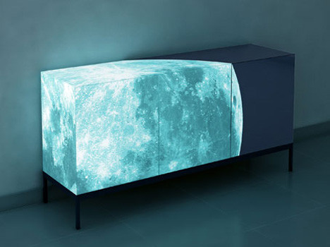 Full Moon contemporary-buffets-and-sideboards