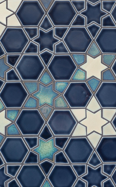Moroccan patterns and mosaics traditional wall and Moroccan ceramic floor tile