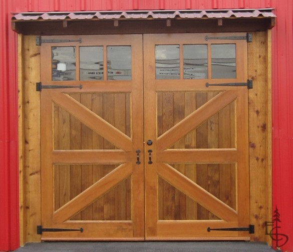 Brittania braced carriage doors garage-doors-and-openers