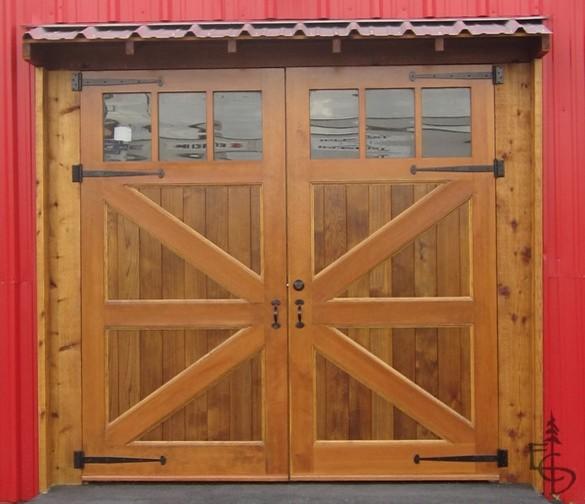 Brittania braced carriage doors garage-doors