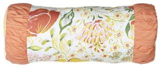 "18"" x 7"" Neckroll Pillow traditional-decorative-pillows"