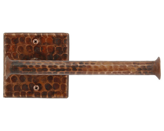 Premier Copper Products - Hand Hammered Copper Tissue Paper Holder - This Premier Hand Hammered Copper Tissue Paper Holder will bring style and beauty to any bathroom in your home.