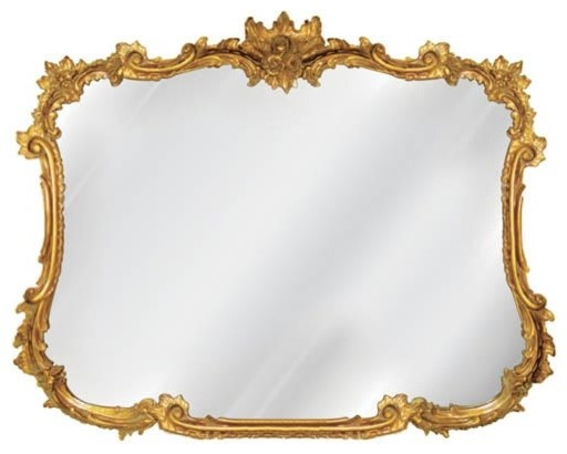Antique Gold Buffet Mirror - Traditional - Wall Mirrors - by Bellacor