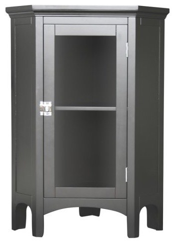 Madison Avenue 7640 Corner Floor Cabinet contemporary bathroom storage