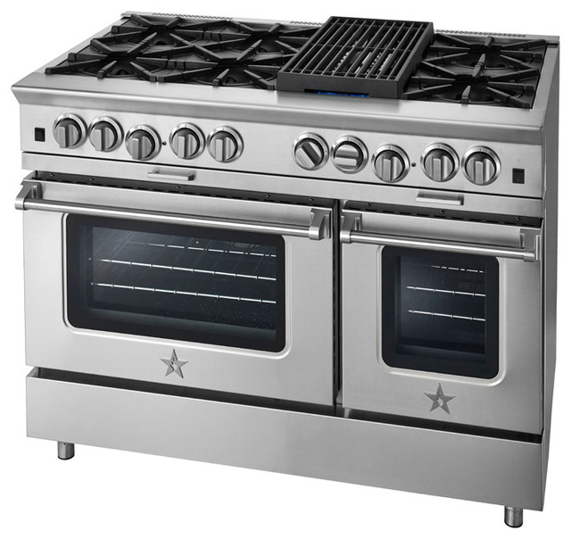 BlueStar Platinum Series: Interchangeable Griddle Charbroiler modern-gas-ranges-and-electric-ranges